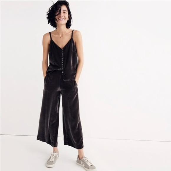 059fc92cf3fc43 Madewell Pants | New Velvet Pull On Palazzo Xl | Poshmark